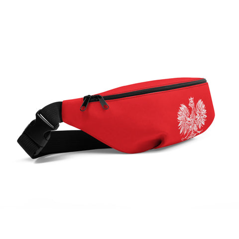 White Eagle Fanny Pack - I AM POLONIA Polish heritage