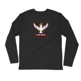 POLISH EAGLE SPORT LOGO Long Sleeve Fitted Crew - I AM POLONIA