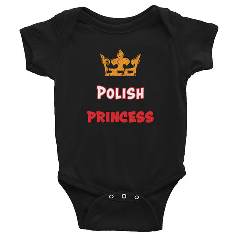 Polish Princess Infant Bodysuit - I AM POLONIA Polish heritage