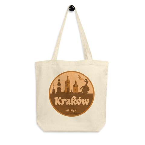 Krakow Eco Tote Bag - I AM POLONIA Polish heritage