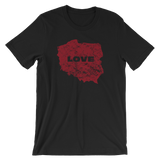 Poland love tshirt - I AM POLONIA Polish heritage