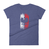 Polish eagle on a flag women's tshirt - I AM POLONIA Polish heritage