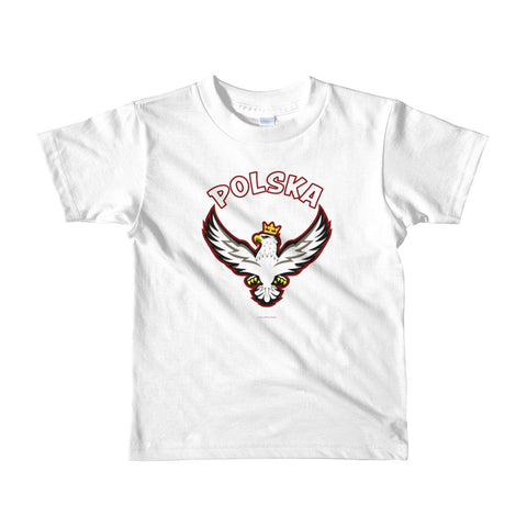 Proud Polish Eagle Youth Tshirt - I AM POLONIA