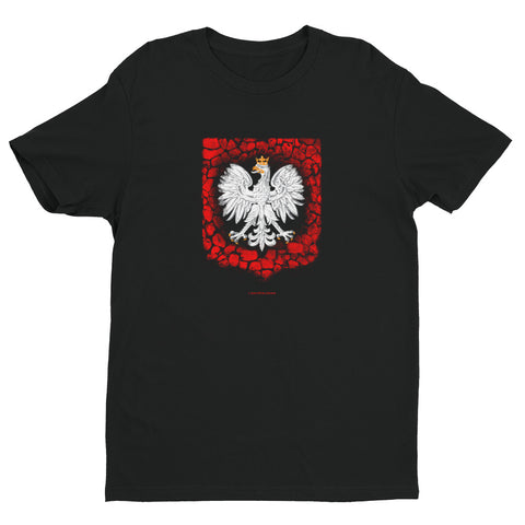 Rock Shield White Eagle - I AM POLONIA Polish heritage
