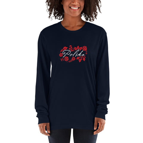 Long sleeve t-shirt - I AM POLONIA Polish heritage