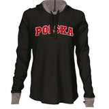 Premium Sport Womens Cool Down Hoodie - I AM POLONIA Polish heritage