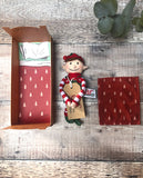 Little Boy Elf and Bed Set