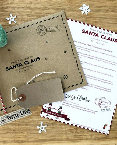 Letter from Santa Claus – ready to personalise for your child