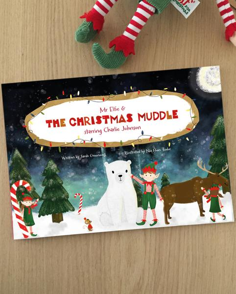 The Christmas Muddle Personalized Story Book - Starring Your Child!