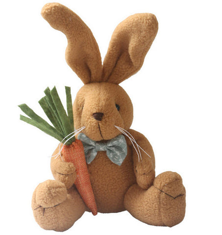 Cute Bunny with Carrot Plushie (FREE GIVEAWAY)