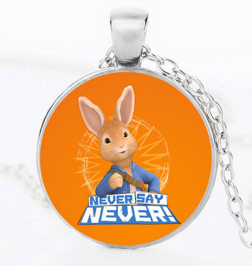 Peter Rabbit Statement Bunny Necklace Limited Edition