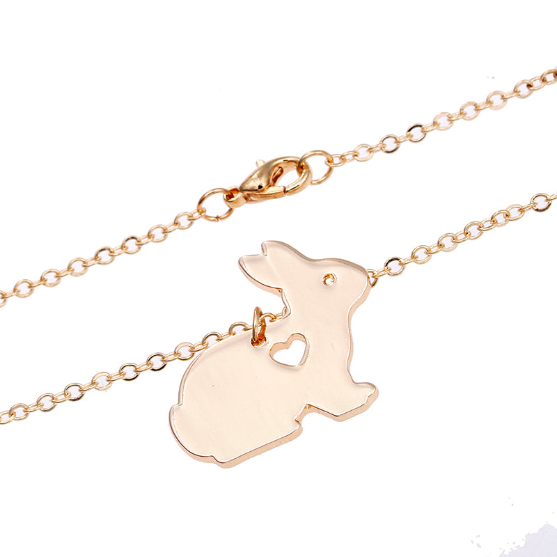 Bunny with Heart Necklace (FREE GIVEAWAY - LIMIT 1 PER PERSON)