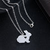 Image of Bunny with Heart Necklace (FREE GIVEAWAY - LIMIT 1 PER PERSON)