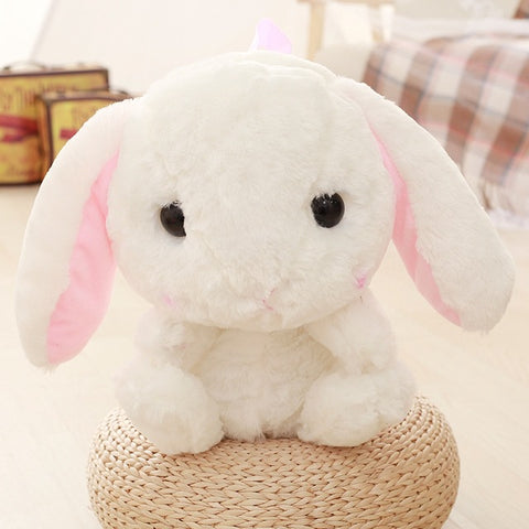 Adorable Fluffy Bunny Rabbit Backpack