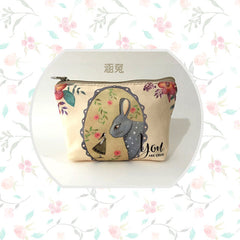 Adorable Bunny Rabbit Purse Design Limited Edition