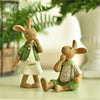 Image of Country-Style Bunny Figurine – 4 Designs