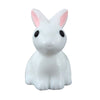 Image of Miniature White Rabbits with Pink Ears 10 Set