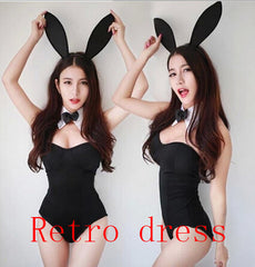 Sexy Play Bunny One-Piece Costume