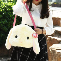 Cute Kawaii Plush Bunny Rabbit Bag