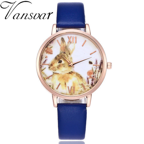 Bunny Rabbit Watch Colorful Design Limited Edition