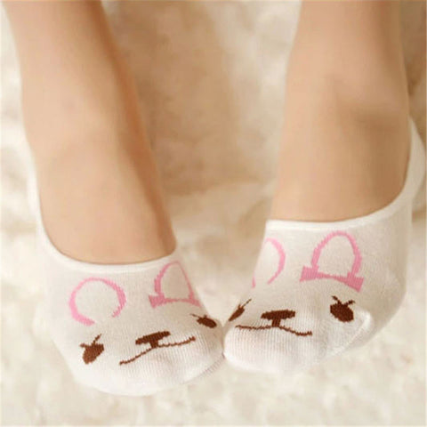 Cute Rabbit Sock Pair