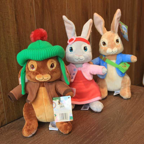 Peter Rabbit-Themed Plush Stuffed Animal – Peter, Lily, or Benjamin