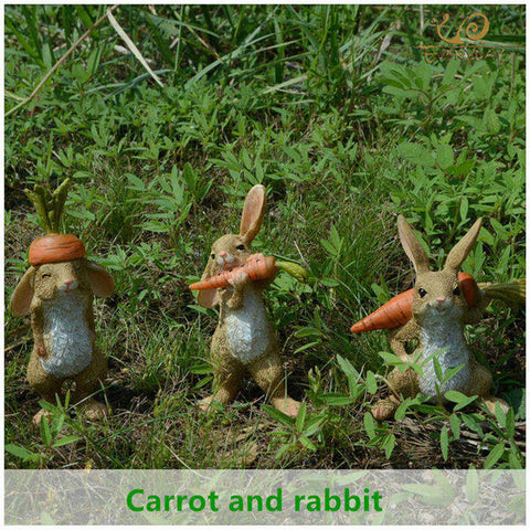 Charming Rabbit Statue – 7 Designs
