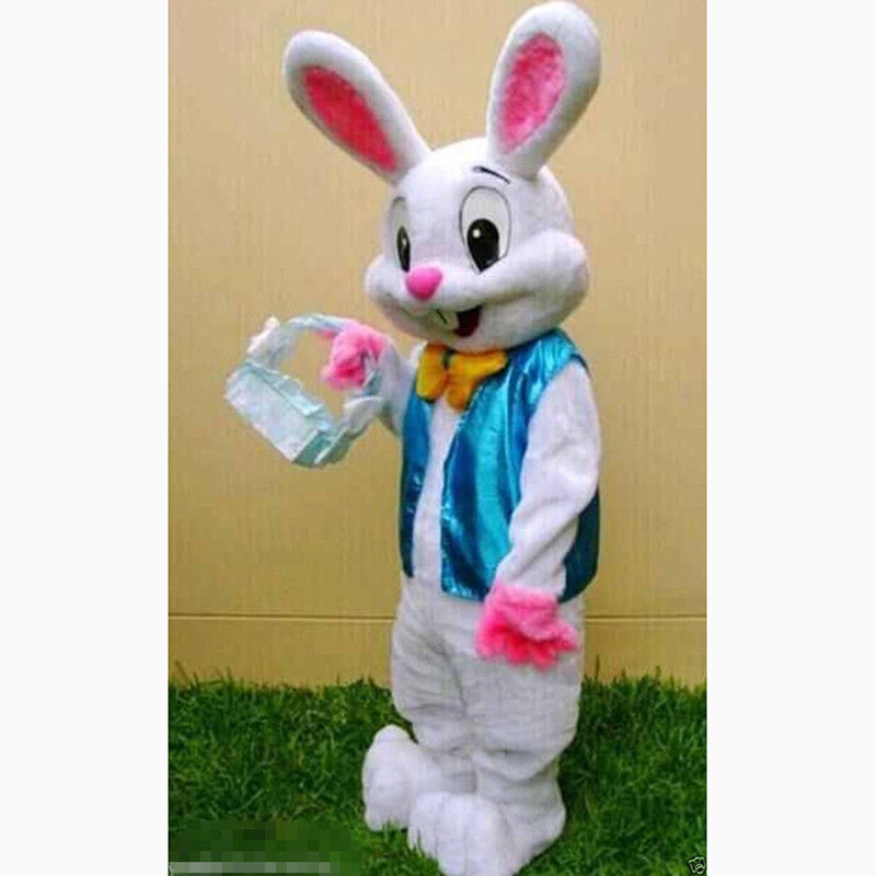 Professional Mascot Easter Bunny Costume for Adults