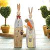 Image of Rustic Bunny Figurine Ornament – 2 Designs