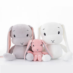 Cute Bunny Plush Stuffed Doll – Three Variants