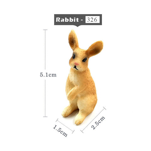 Mini Rabbit Figurine – 3 Designs