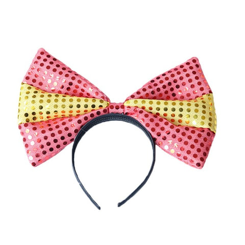 Large Colorful Rabbit Ears Head Band