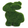 Image of Novelty Handmade Artificial Turf Grass Rabbit Ornament