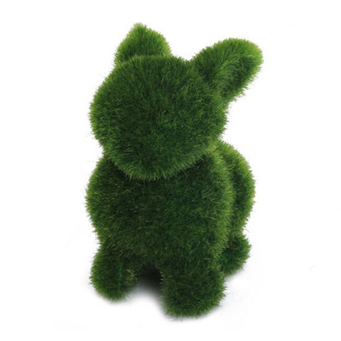 Novelty Handmade Artificial Turf Grass Rabbit Ornament