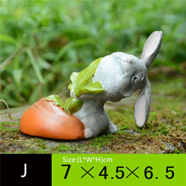 Cartoony Rabbit Figurine Statue – 8 Designs
