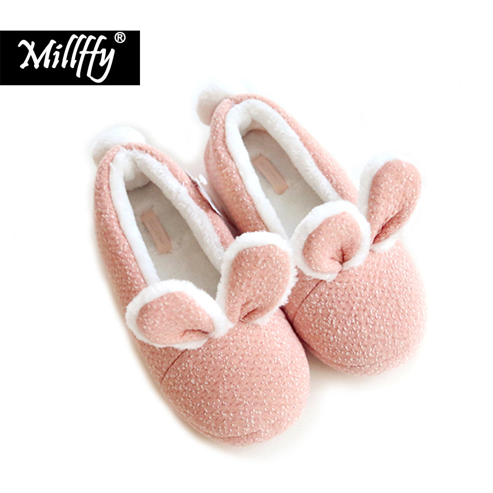 Lovely Bedroom Bunny Shoes – Three Designs