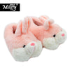 Image of Fur Bunny House Slippers – Three Color Variants