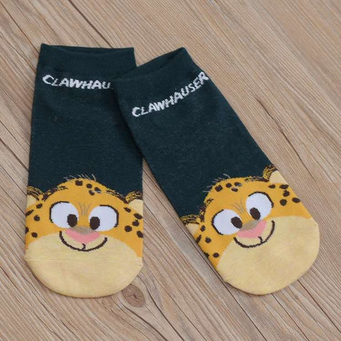 Zootopia Themed Socks - 10 Pair Set