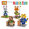 Image of Zootopia Themed Block Toys – 8 Designs