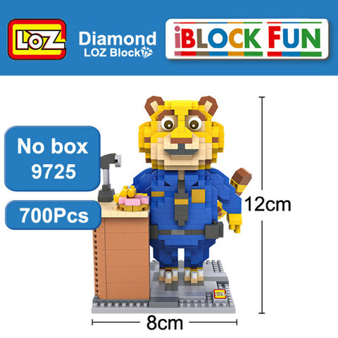 Zootopia Themed Block Toys – 8 Designs