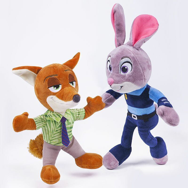 Zootopia Themed Plush Toy – Juddy Hopps or Nick Wilde