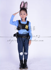 Judy Hopps Zootopia Costume for Kids – 6 Sizes