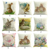 Image of Easter Rabbit Themed Pillow Covers – 9 Designs