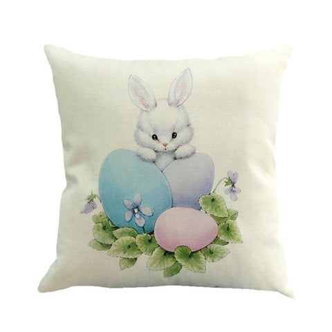 Easter Rabbit Themed Pillow Covers – 9 Designs