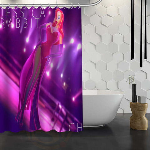 Jessica Rabbit Shower Curtain – 11 Designs