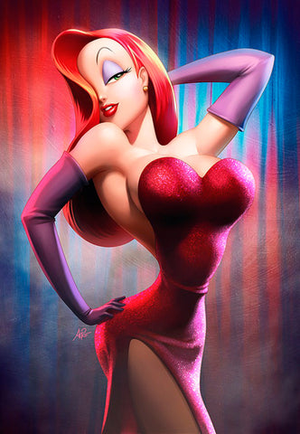 Jessica Rabbit Wall Decor – HD Wall Art