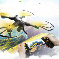 Foldable Quadcopter Drone With FPV View