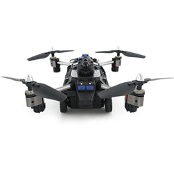 2 in 1 RC Tank and RC Drone with Rotatable Camera and 1 key transformation