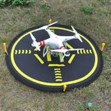 80cm Black and Orange Landing Pad, Landing Pad, [product_tags] - SGM Drones