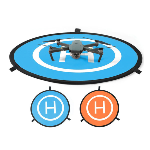 75cm Blue and Orange Drone Launch Pad, Landing Pad, [product_tags] - SGM Drones
